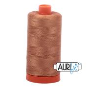 Aurifil 50wt 1300m Light Cinnamon 2335