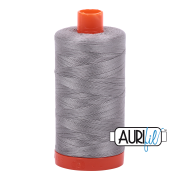 Aurifil 50wt 1300m Stainless Steel 2620