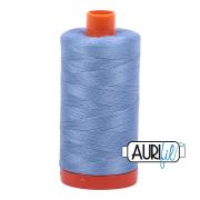 Aurifil 50wt 1300m Light Delft Blue 2720