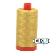 Aurifil 50wt 1300m Gold Yellow 5015