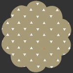 Observer Triangle Tokens Home Metallic