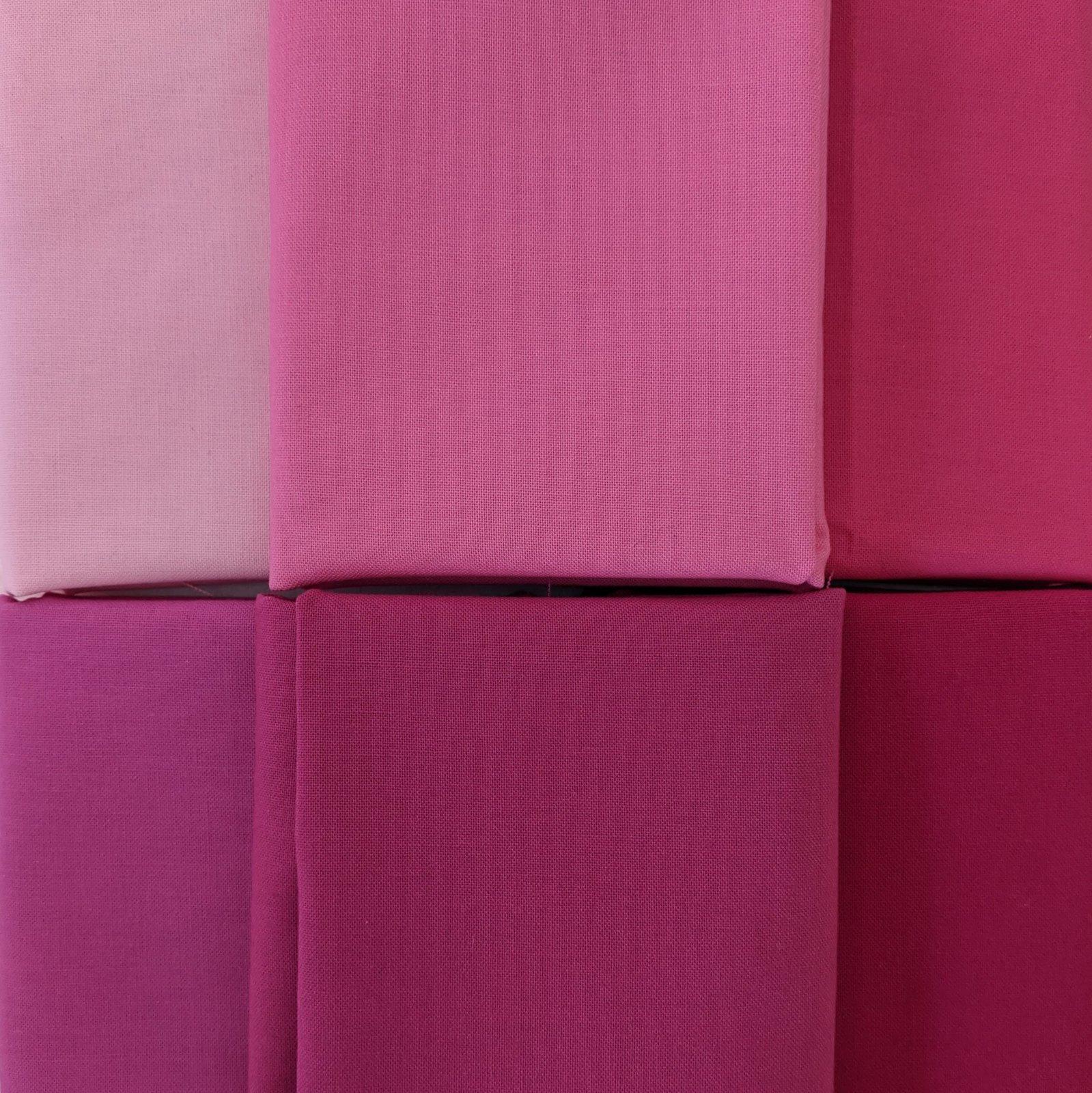Bundle Bella Solids Pinks