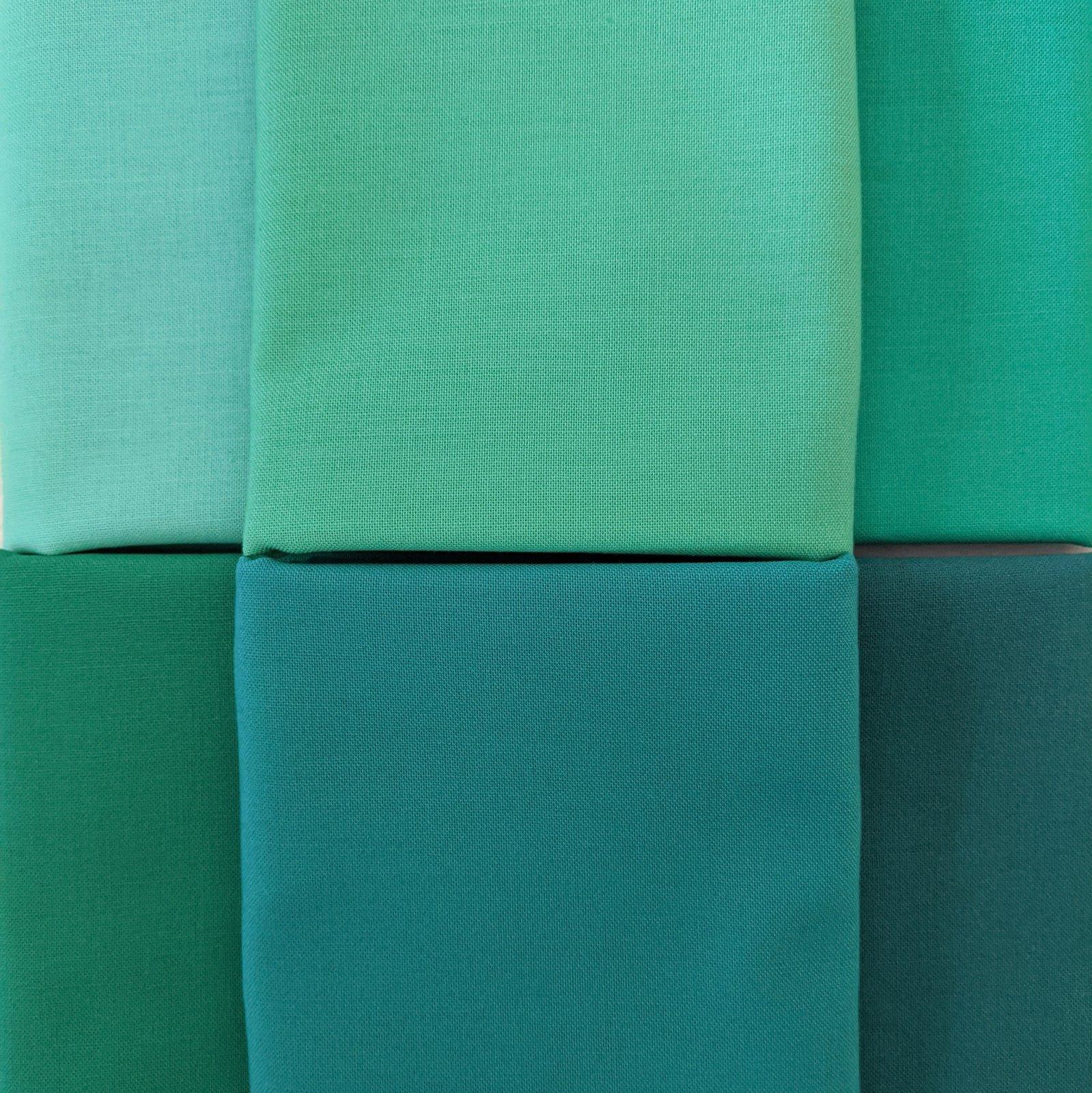 Bundle Bella Solids Aquamarines