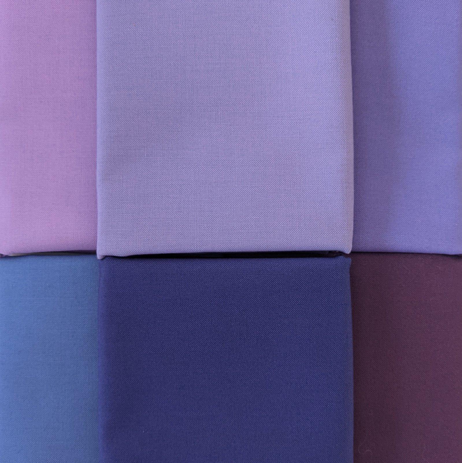 Bundle Bella Solids Purples
