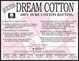 QD Cotton Select White King Roll 122