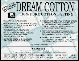 QD Cotton Request Natural Queen Roll 93