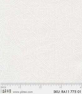 Ramblings 11 Hex Maze White/White