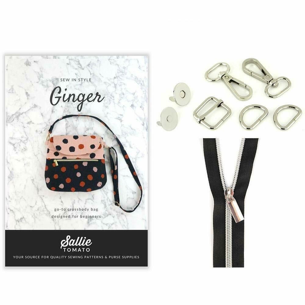 Sallie Tomato Pattern & Hardware Kit - Ginger