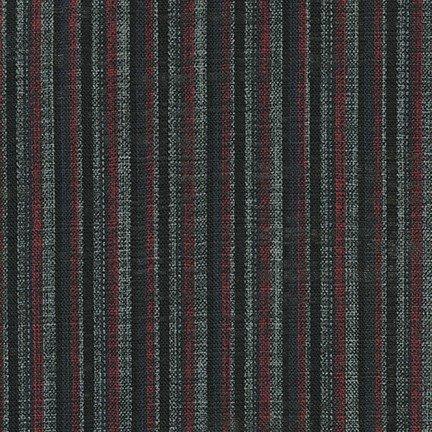 Nara Homespun Stripe Red/Black