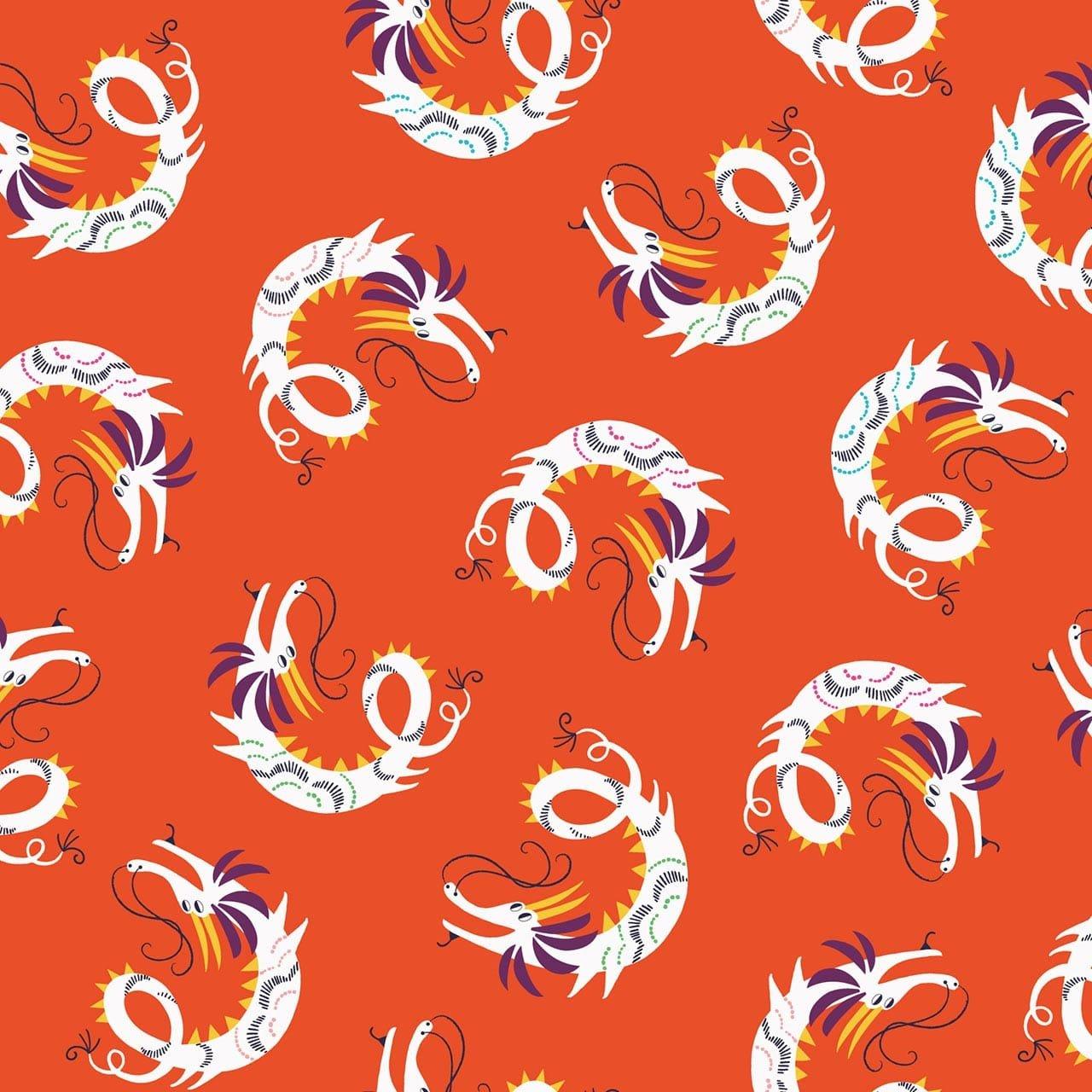 Silk Roads Dragon Vermilion