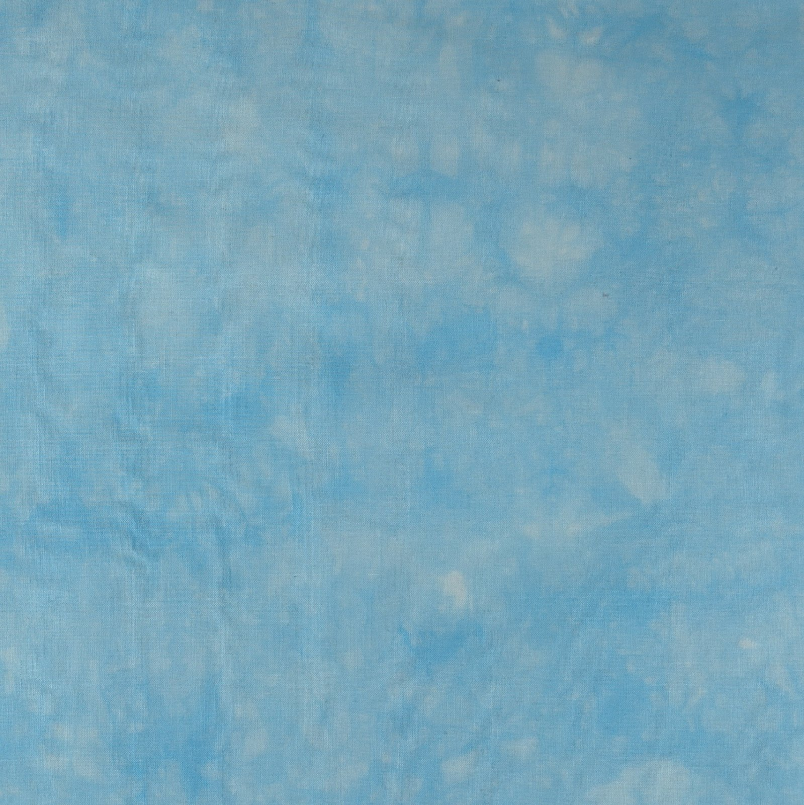 Sky Blue Hand-Dyed Semi-Solid Fat Quarter