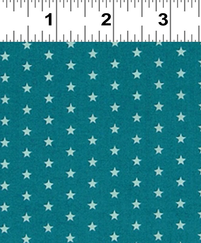 Frou Frou Voile Star Teal