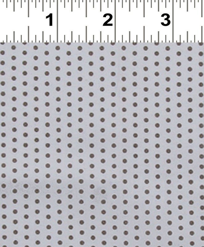 Frou Frou Voile Dot Grey