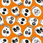 Ready Set Glow Skulls Orange
