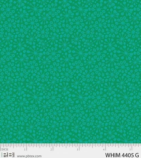 Whimsy Cool Burst Green