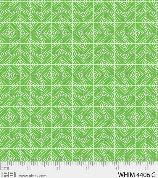 Whimsy Cool Maze Green
