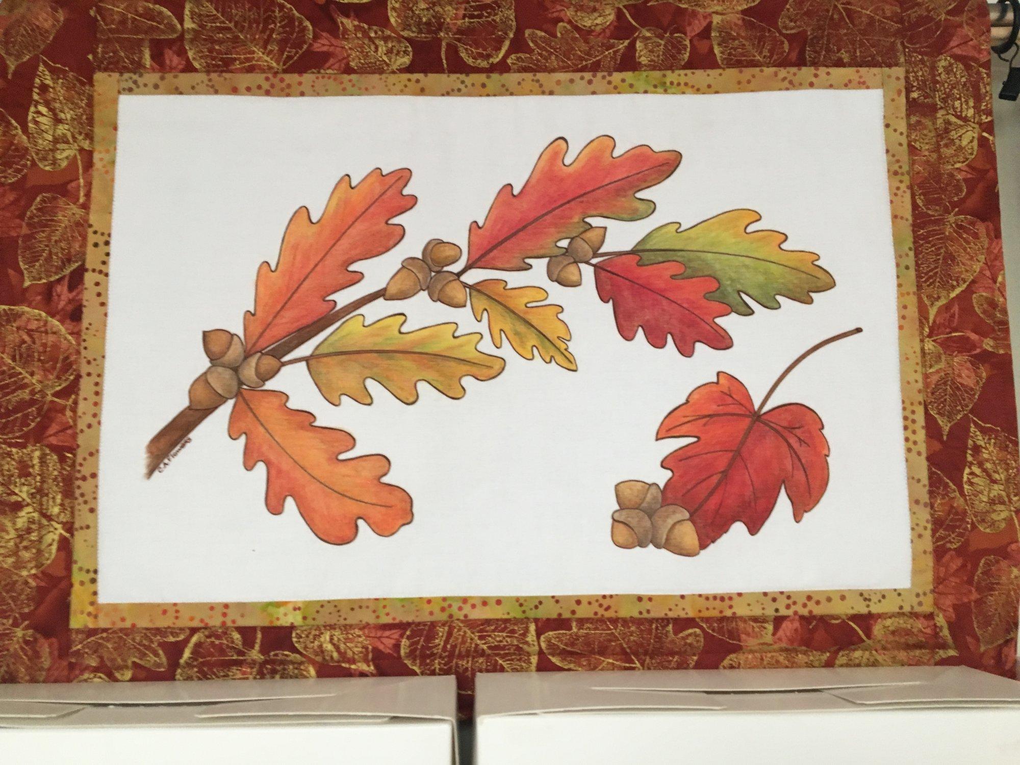 Catherine's Oak Leaves