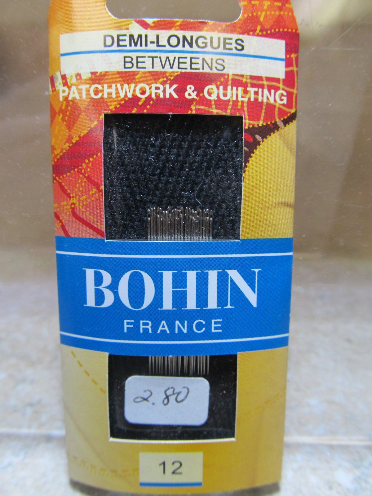 Bohin Between / Quilting Needles Size 12