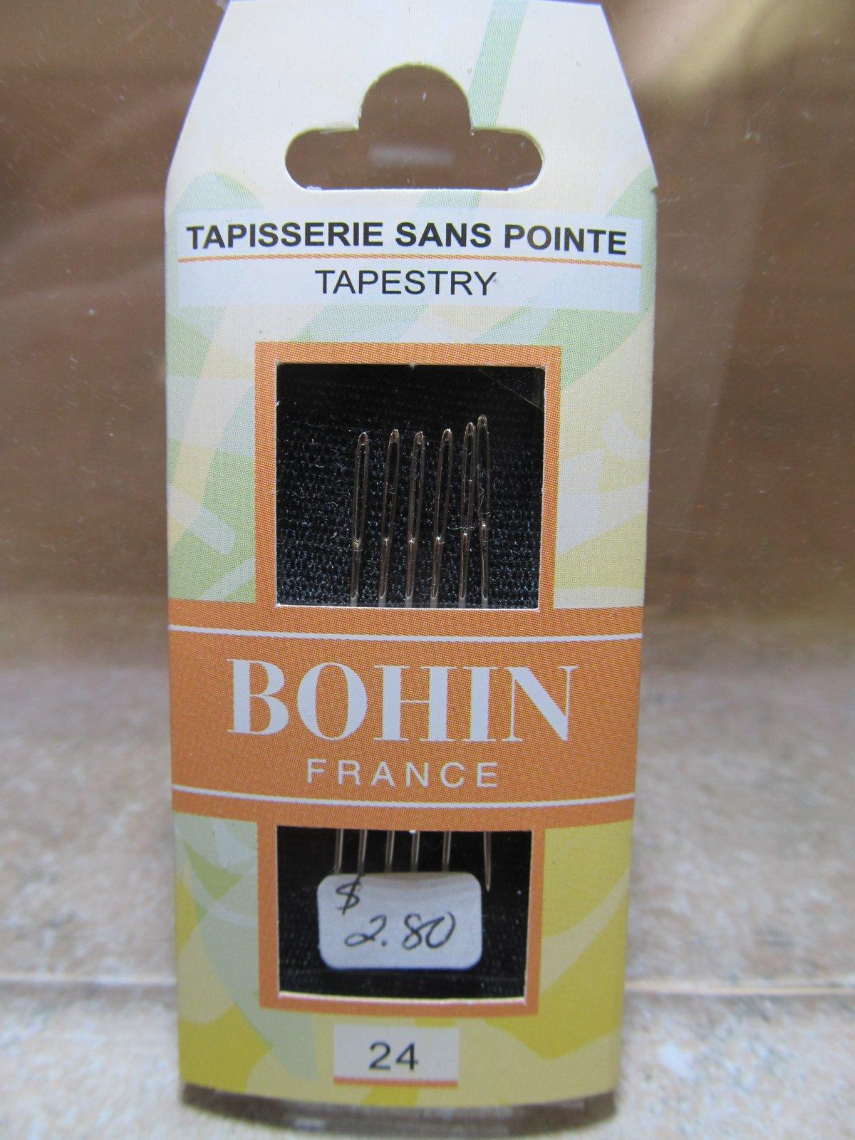Bohin Tapestry Needles Size 24
