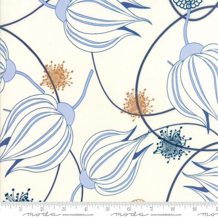 Moda True Blue White