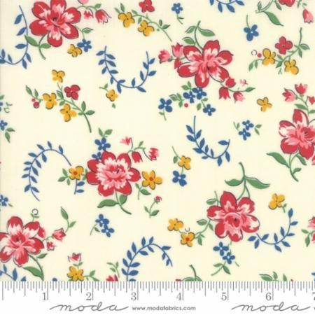 Moda Spring A Ling Cream Floral