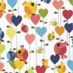 SUSYBEE  EVIE-BIRDS & HEARTS