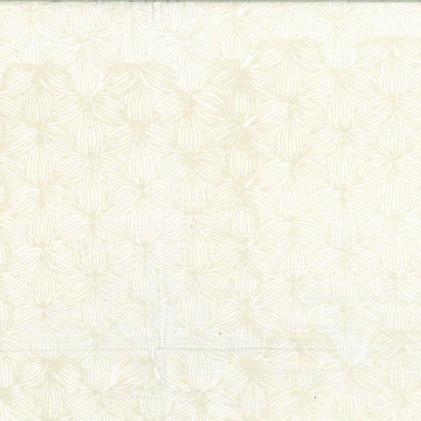 BALI BATIK LINED FLORAL OYSTER