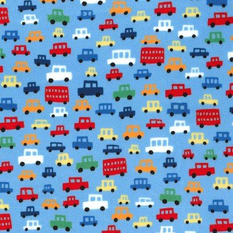 MI MILLER MINKY TOOT TOOT CARS/BLUE