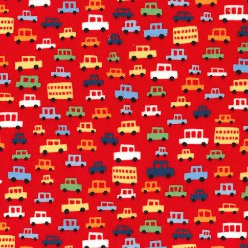 MI MILLER MINKY TOOT TOOT CARS/RED