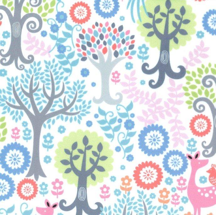 MI MILLER MINKY FANTASY WOODS GARDEN/TREES