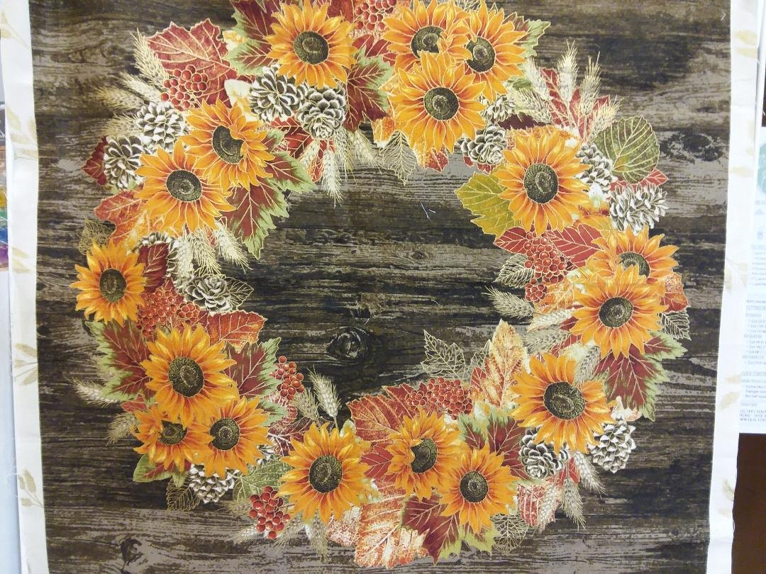 Autumn Sunflower  w/Metallic