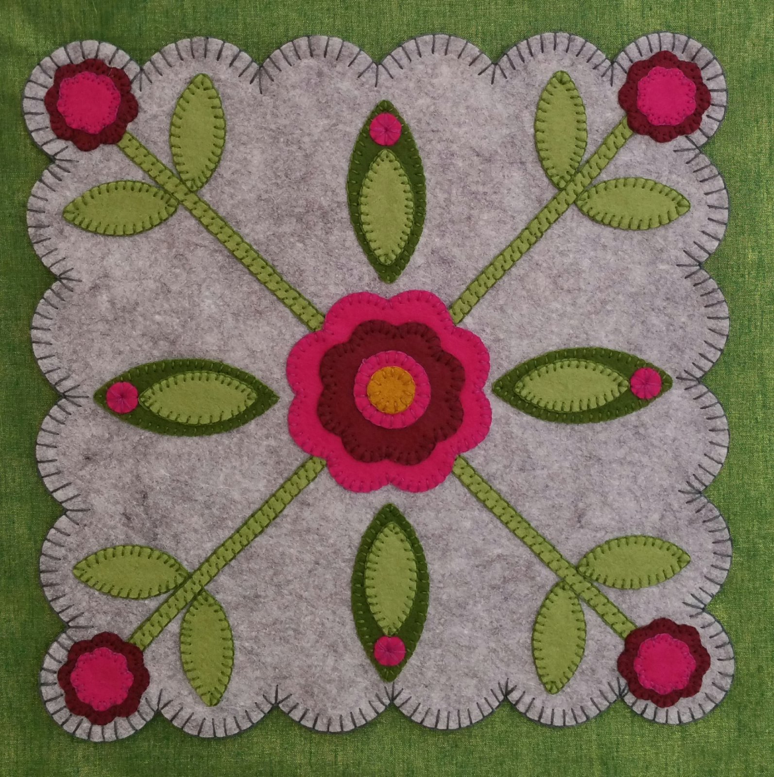 Rose of Sharon Block #3