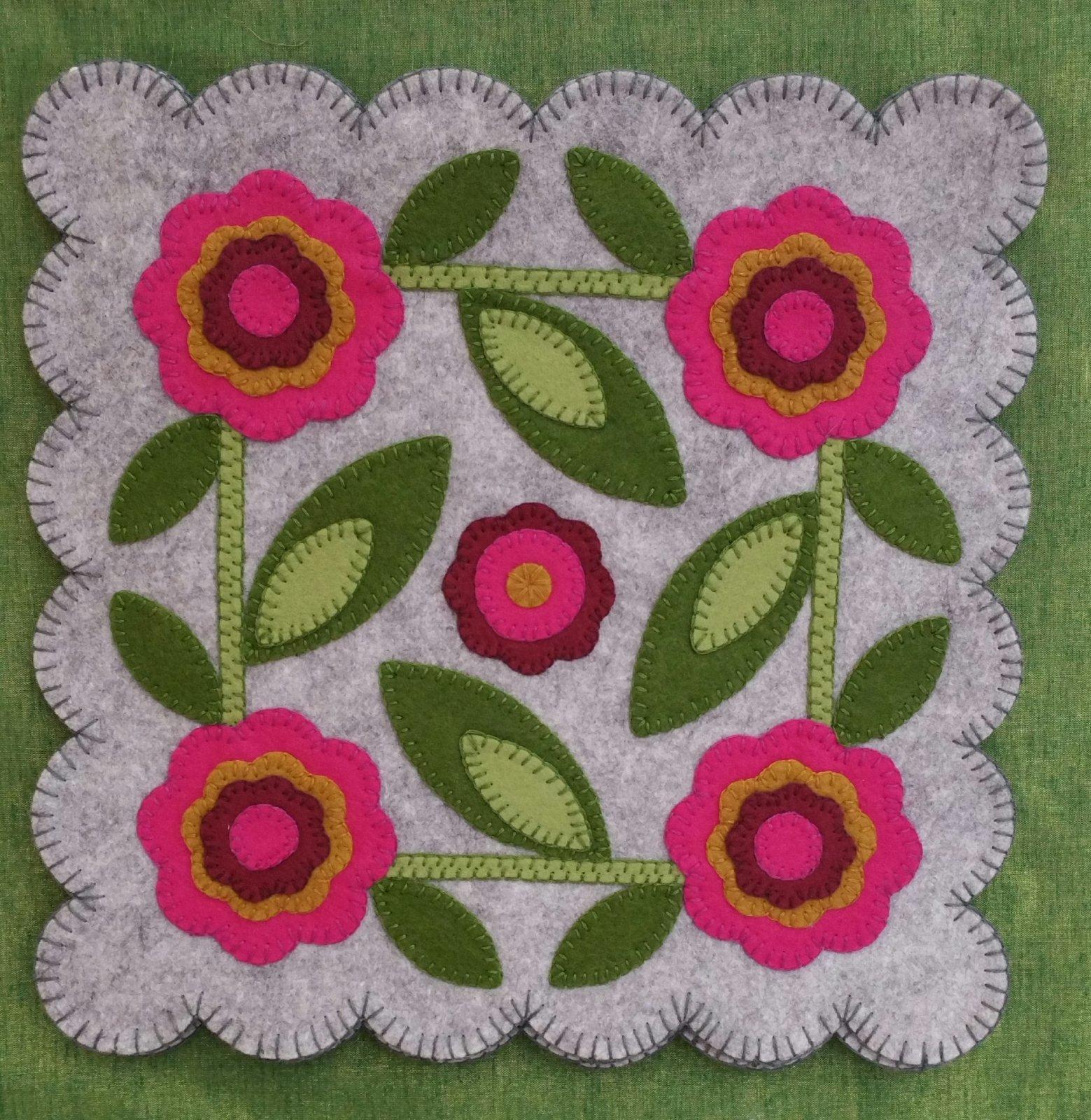 Rose of Sharon Block #4