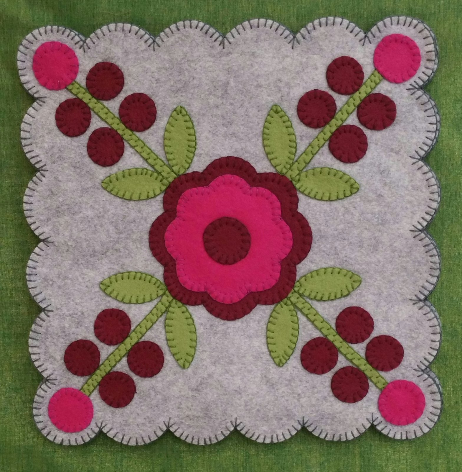 Rose of Sharon Block #1