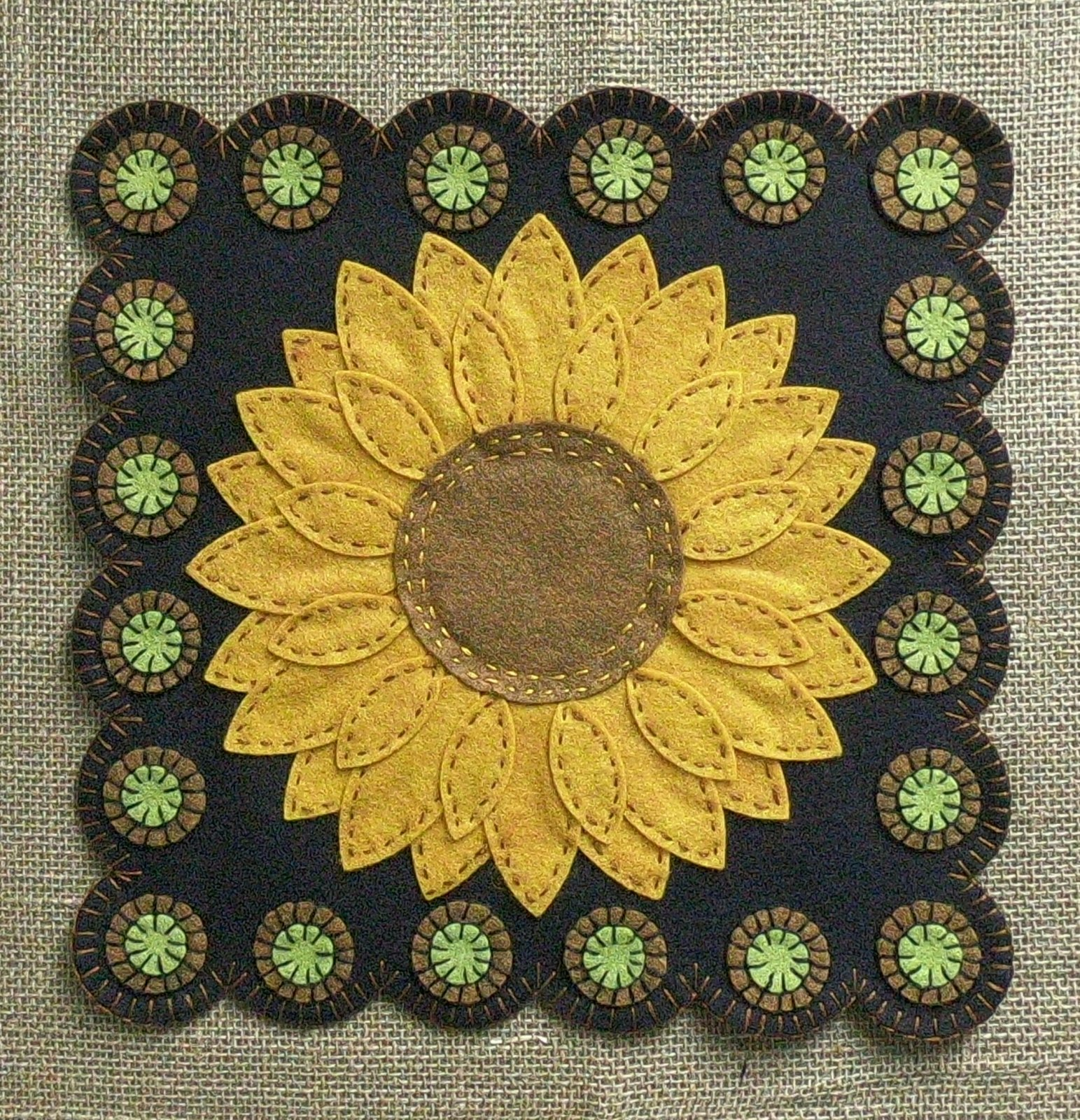 Sunflower Primitive