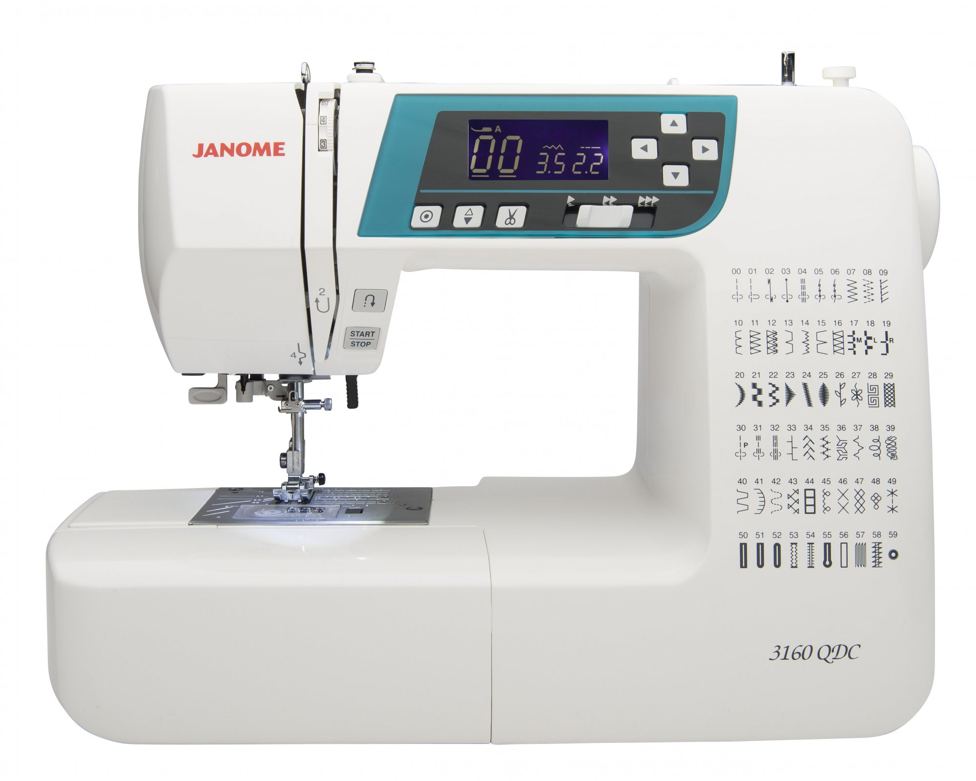 Janome 3160 QDC-B