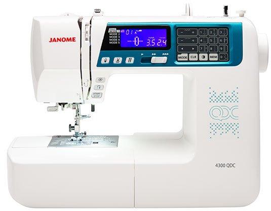 Janome 4300 QDC-B