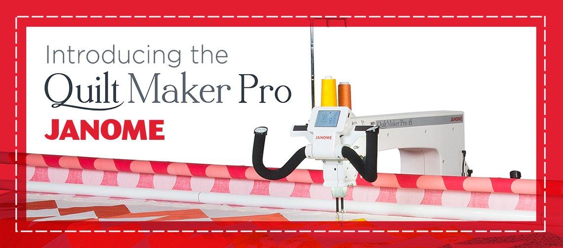 QuiltMaker Pro 18 Quilting Machine Frame and Bobbin Winder