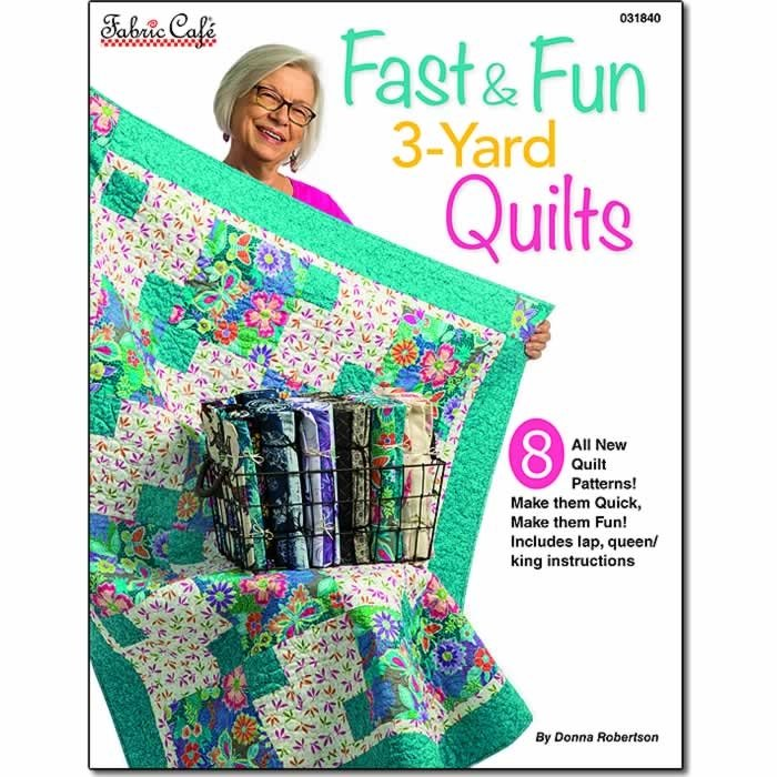 Fast & Fun 3-Yard Quilts Pattern Book
