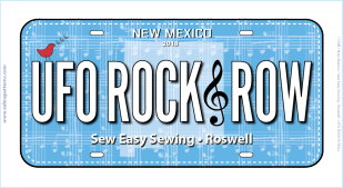 Row by Row 2018 NM License Plate 2