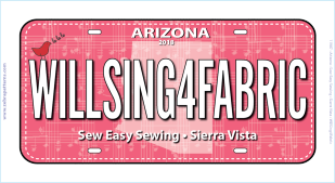 Row by Row 2018 AZ License Plate 1