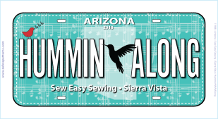 Row by Row 2018 AZ License Plate 2