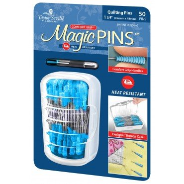 Magic Pins Quilting Pins - 50 Pins