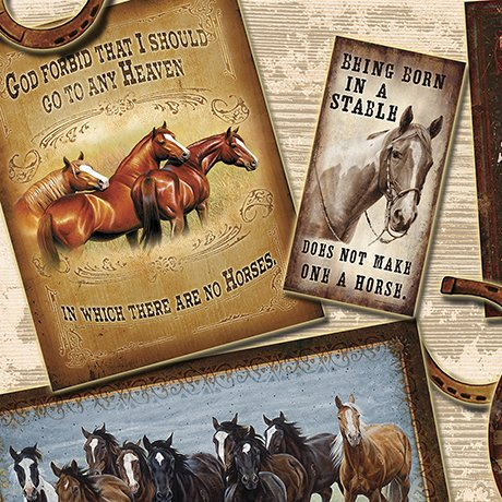 Round 'Em Up HORSE PATCHES