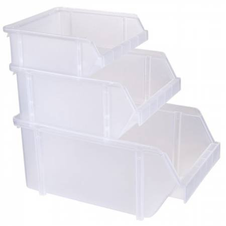 Clear Stacking Bins