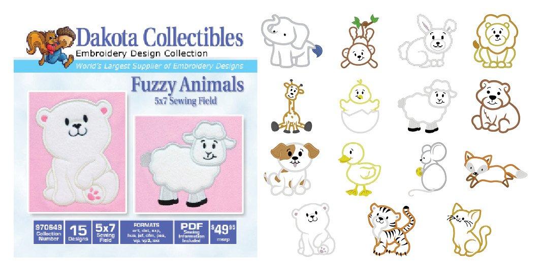 Fuzzy Animals 970649