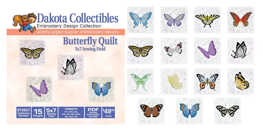 Butterfly Quilt 970657