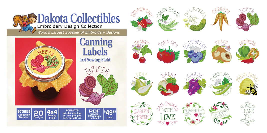 Canning Labels 670659