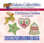 Christmas Cookies 4 x 4