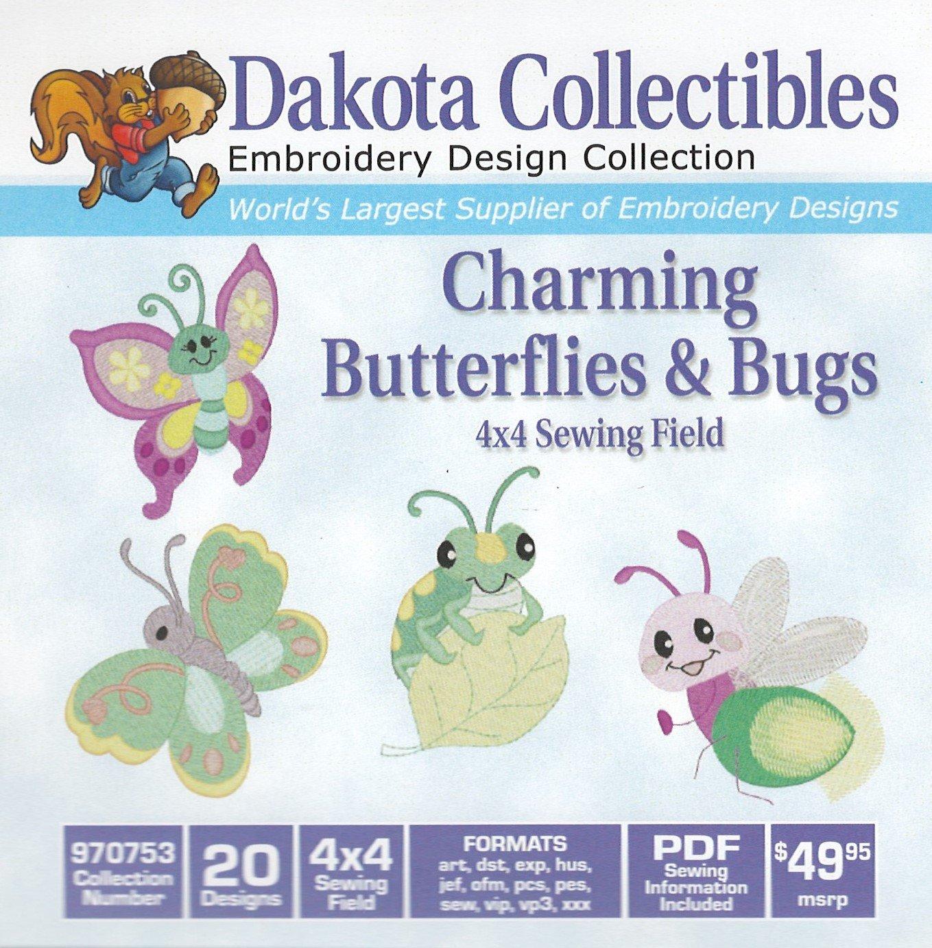 Charming Butterflies & Bugs